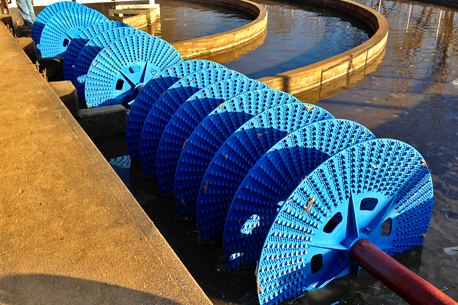 Disc Rotor Oxidation Ditches Envirodyne Systems Inc